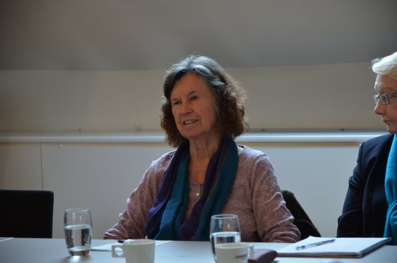 "Maria Gilbert at Colloquium ""Art and/or Science"" - Antwerp, October 2014"